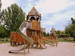TP Outdoor Climbing Frames and Wooden Swings